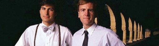 Steve Jobs and John Sculley circa. 1984