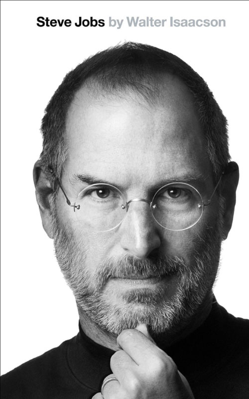 Steve Jobs Biography by Walter Isaacson cover, 10/24/2011